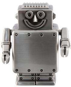 Sparbössa Robot (Matt tennfinish)