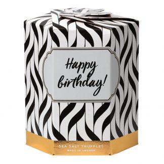 Sea Salt Truffles Presentask - Happy Birthday