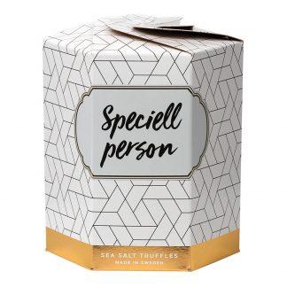 Sea Salt Truffles Presentask - Speciell person