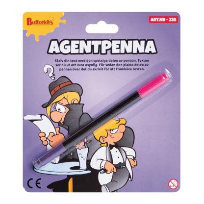 Agentpenna Skämtartikel