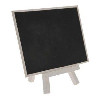 Blackboard Tavla på Ställ Vit