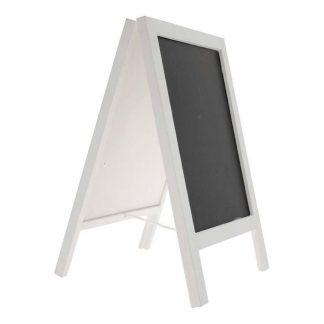 Dubbelsidig Blackboard Tavla på Ställ Vit