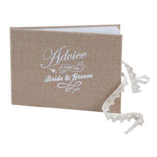 Advice for the Bride & Groom Bröllopsbok