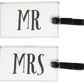 Bagagetag Mr & Mrs