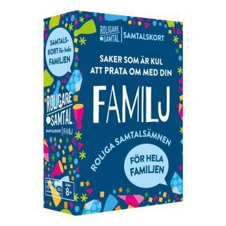 Roligare Samtal Frågespel - Familj