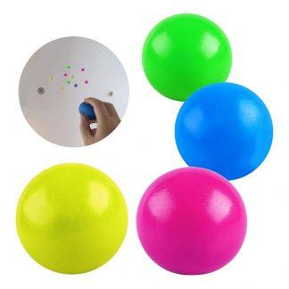 Sticky Balls Fidget Toy - 4-pack Flerfärgade
