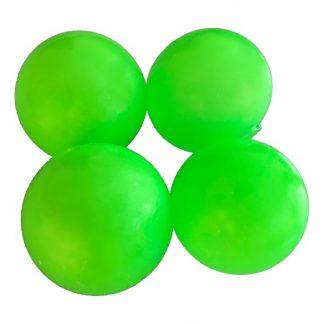 Sticky Balls Fidget Toy - 4-pack Självlysande