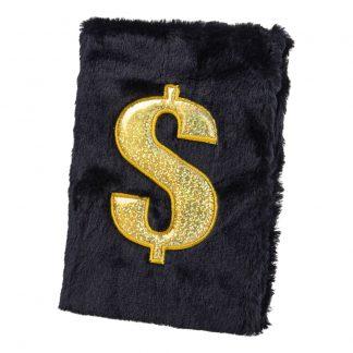 Anteckningsbok Plysch Dollar