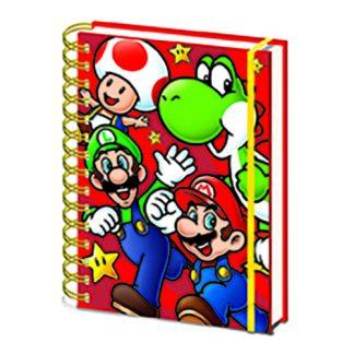 Anteckningsbok Super Mario
