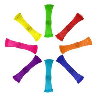 Braided Tube Fidget Toy - Flerfärgad